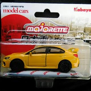 マジョレットミニカー 日本車セレクション スバル WRX   STI  イエロー(ミニカー)