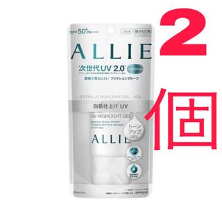 ALLIE - アリィー エクストラUV ハイライトジェル 60g SPF50+/PA++++