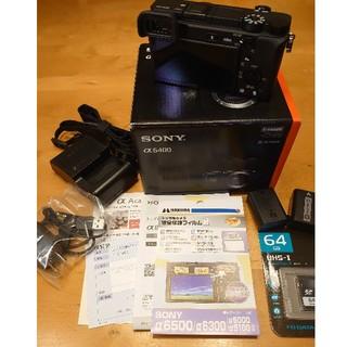 SONY - ソニー α6400 ボディー  ILCE 6400L
