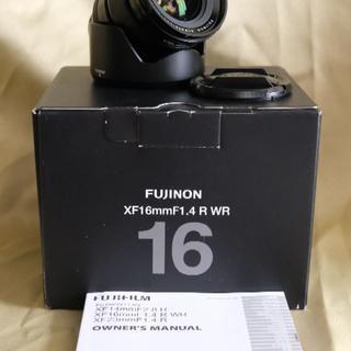 美品 富士フィルム FUJIFILM   XF16mmF1.4 R WR