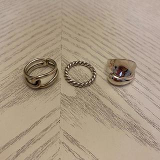 ノーブランドシルバーリングセット売り(リング(指輪))