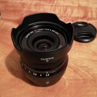 フジフイルム(富士フイルム)のxf16mm f2.8 r wr(レンズ(単焦点))