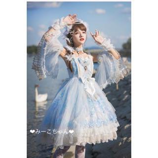 ベイビーザスターズシャインブライト(BABY,THE STARS SHINE BRIGHT)のThe Blue Danube ドレスフルセット  ロリィタ しゅくれどーる(ミディアムドレス)