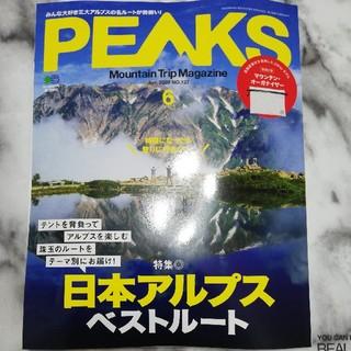 エイシュッパンシャ(エイ出版社)のPEAKS 6月号(趣味/スポーツ)