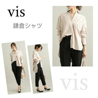 ViS - ViS 鎌倉シャツ ルーズシルエットシャツ