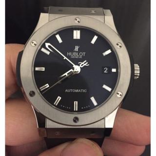 本日のみ最終お値下HUBLOT(ウブロ)腕時計★送料無料☆最安値☆自動巻き(腕時計(アナログ))