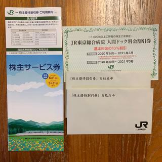 ジェイアール(JR)のJR東日本株主優待券10枚(鉄道乗車券)