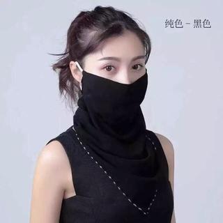 マスクスカーフ 日焼け対策 スカーフ お洒落 フェイスカバー マスク UV対策(バンダナ/スカーフ)