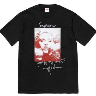 Supreme - Supreme Madonna Tee Black FW18 シュプリーム