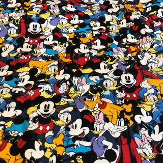 ディズニー(Disney)のC/94 ディズニー ( ミッキーマウス A ) / 110x60(生地/糸)