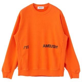 AMBUSH - AMBUSH  19AW  丸襟の長袖パーカー