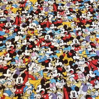 ディズニー(Disney)のC/93 ディズニー 生地 ( ミッキーマウス B ) / 110x60(生地/糸)
