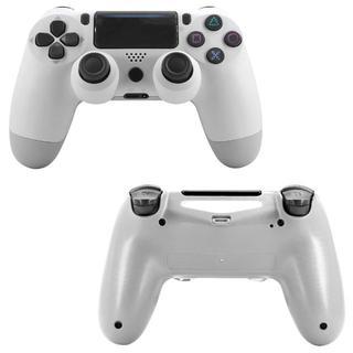 2020年版 PS4 ワイヤレスコントローラー ホワイト 白色 互換品(その他)