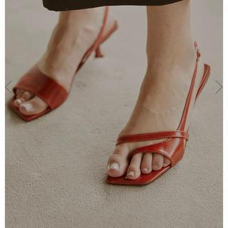 Ameri VINTAGE - AMERI asymmetry sandal Mサイズ