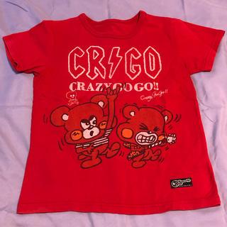 クレイジーゴーゴー AC/DC風Tシャツ 150(Tシャツ/カットソー)