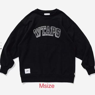 W)taps - 【新品】WTAPS SWEAT BK M