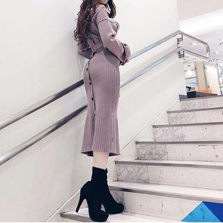 リップサービス(LIP SERVICE)のlip service♡LADYショートブーツ(ブーツ)