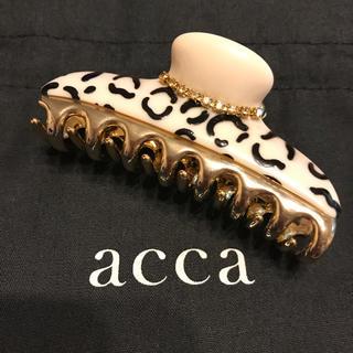 acca - acca 【限定】アニマル柄 中クリップ / アッカ