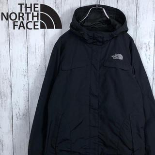 THE NORTH FACE - 【海外モデル】【ノースフェイス】刺繍ロゴ☆ナイロンジャケット☆黒