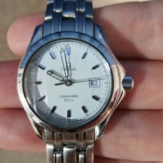 OMEGA - オメガ シーマスター120mレディース腕時計6501/827