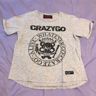 【専用】クレイジーゴーゴー ロックンロールT ワイド 140(Tシャツ/カットソー)