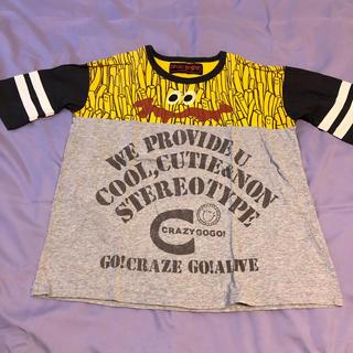 クレイジーゴーゴー ポテトビッグT 150(Tシャツ/カットソー)