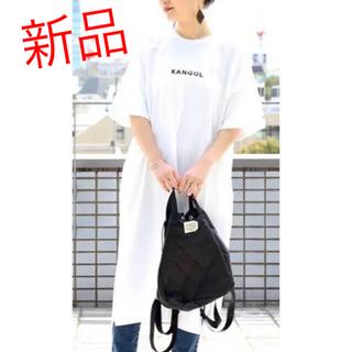 カンゴール(KANGOL)のFREAK'S STORE×KANGOL Tシャツワンピース(Tシャツ(半袖/袖なし))