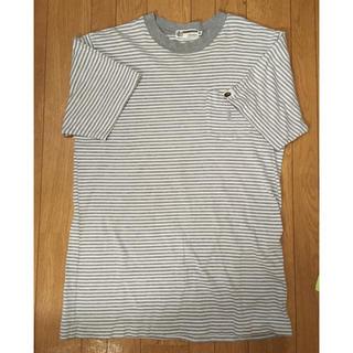 A BATHING APE - アベイシングエイプ  ボーダー Tシャツ
