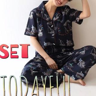 TODAYFUL - トゥデイフル パイピング マリン シャツ パンツ セットアップ