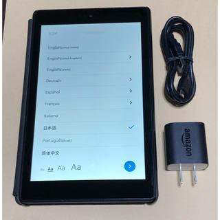 アンドロイド(ANDROID)の【Alexa搭載】Amazon Fire HD 8 16GB 純正カバー付き(タブレット)