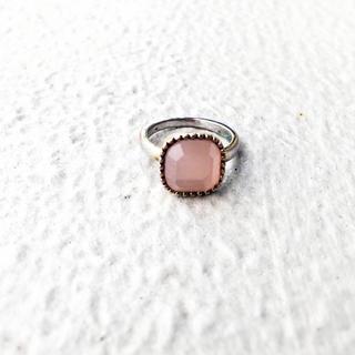 アメリヴィンテージ(Ameri VINTAGE)の(vintage) ruby pink red ring*ルビーピンクリング(リング)