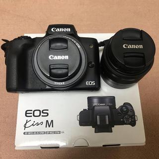 Canon - EOS kiss M キャノン 5年保証