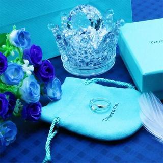 ティファニー(Tiffany & Co.)の☆新品☆未使用☆ティファニー くり抜きハートリング12号(リング(指輪))