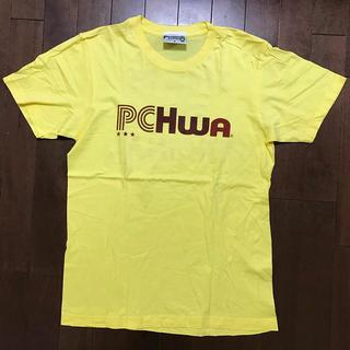 新品 レモンイエローカラー Tシャツ メンズ(Tシャツ/カットソー(半袖/袖なし))