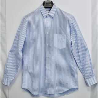 コムデギャルソン(COMME des GARCONS)の[定番シャツ]  コムデギャルソンシャツ ブラウス ストライプ フランス製 L(シャツ)