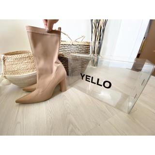 イエローブーツ(Yellow boots)の【値下げ】YELLO ショートブーツ.(ブーツ)