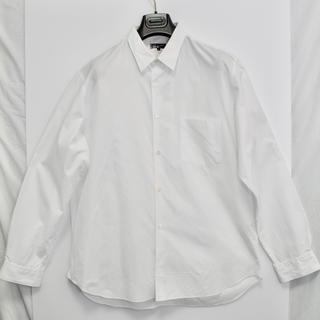 コムデギャルソン(COMME des GARCONS)の[定番シャツ]  コムデギャルソン オム シャツ ブラウス ホワイト日本製 XL(シャツ)