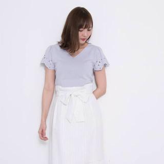 PROPORTION BODY DRESSING - 【雑誌掲載】プロポーション✩.*˚カットワークフレアーニット
