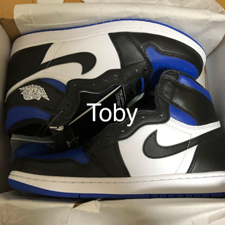 NIKE - 【国内正規】Nike AJ1 Retro High OG Royal Toe