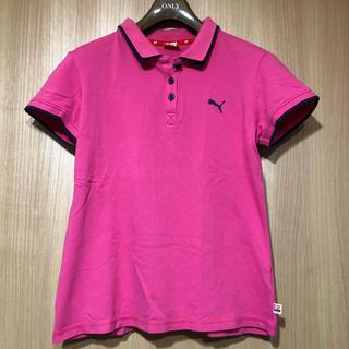 プーマ(PUMA)のPUMA(プーマ)ポロシャツ レディースMサイズ(ポロシャツ)