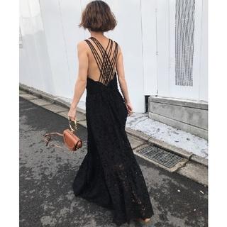 Ameri VINTAGE - アメリヴィンテージ MEDI BACK CROSS DRESS