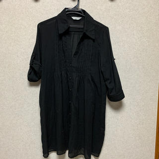 シマムラ(しまむら)のシャツ ロングシャツ 300円送料込み(シャツ/ブラウス(長袖/七分))