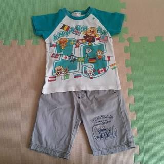 アンパンマン - アンパンマンTシャツ&ハーフパンツセット 100size