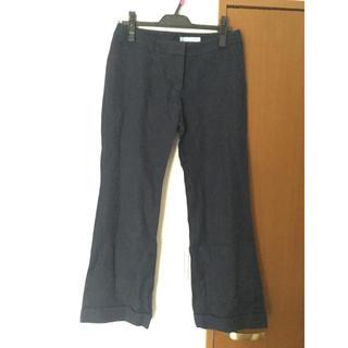 スーツカンパニー(THE SUIT COMPANY)のスーツカンパニー セミワイド パンツ ネイビー(その他)