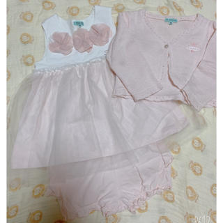 トッカ(TOCCA)の☆ドレスセット☆TOCCA☆ベビー(セレモニードレス/スーツ)