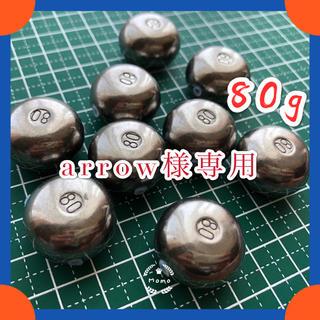 【送料込み!】タイラバタングステンシンカー60g*1個80g*1個(ルアー用品)