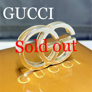グッチ(Gucci)の新品仕上 グッチ GUCCI インターロッキング シルバー マネークリップ(マネークリップ)