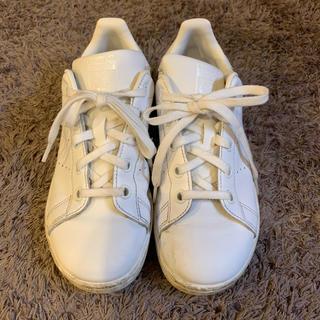 アディダス(adidas)の【adidas】stan smith  白スニーカー 20cm(スニーカー)