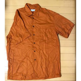 クリスチャンディオール(Christian Dior)のChristian Dior カラーシャツ ビッグシルエット オーバーサイズ(シャツ)
