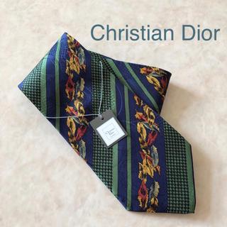 クリスチャンディオール(Christian Dior)のChristian Dior ネクタイ 【グリーン/フェザー】(ネクタイ)
